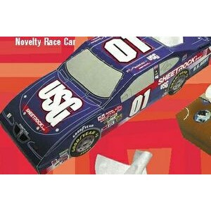 SniftyPak Novelty Series Facial Tissue Paper - Race Car