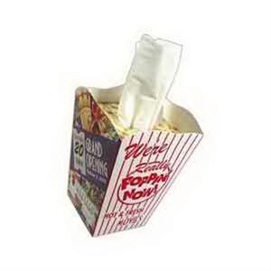 SniftyPak Novelty Series Facial Tissue Paper - Popcorn Tub