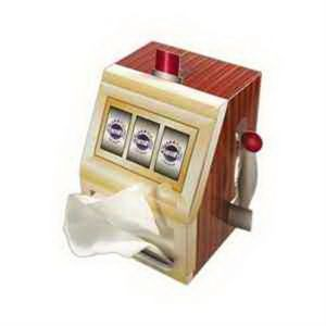 SniftyPak Novelty Series Facial Tissue Paper - Slot Machine