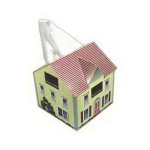 SniftyPak Novelty Series Facial Tissue Paper - House