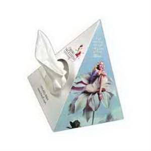 SniftyPak Novelty Series Facial Tissue Paper - Pyramid
