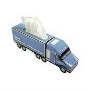 Semi-Truck SniftyPak Novelty Series Facial Tissue Paper
