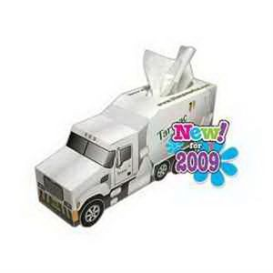 Cement Truck SniftyPak Novelty Series Facial Tissue Paper
