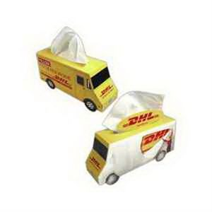 Delivery Truck SniftyPak Novelty Series Facial Tissue Paper
