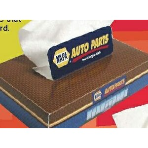 "Travel Facial Tissue Box (6.25""x4.25""x1.25"")"